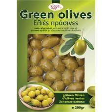 Ελιές Πράσινες Κρήτης 250γρ
