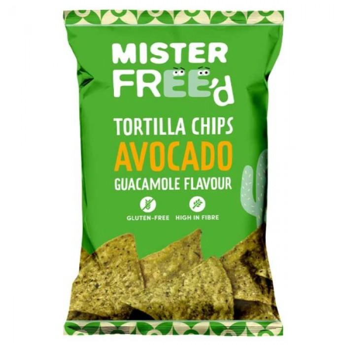 Tortilla Chips με Αβοκάντο 135gr