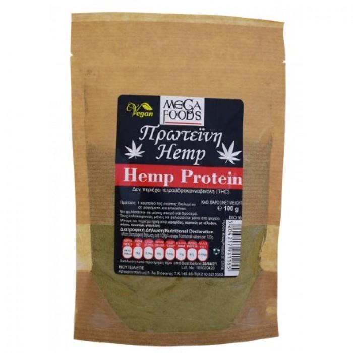 Πρωτεΐνη Κάνναβης Βιολογική (Hemp Protein Powder) 100gr