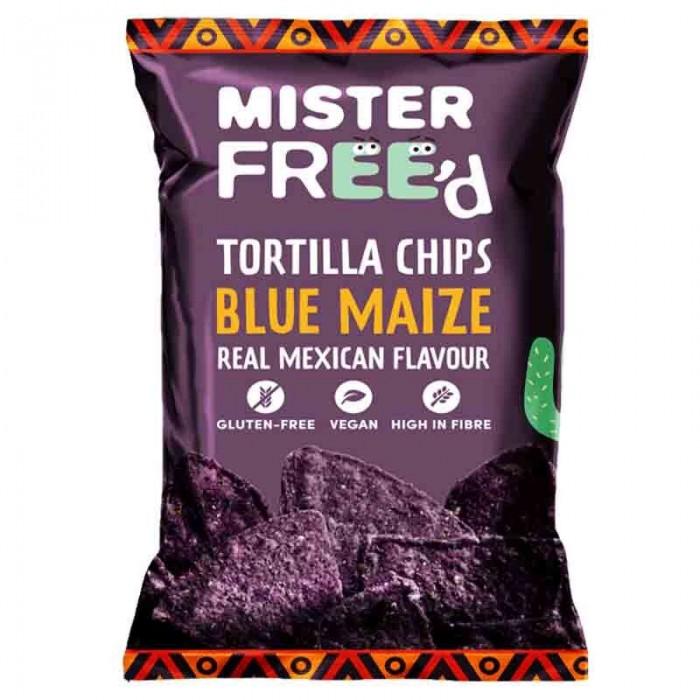 Tortilla Chips με Μπλε Καλαμπόκι 135gr