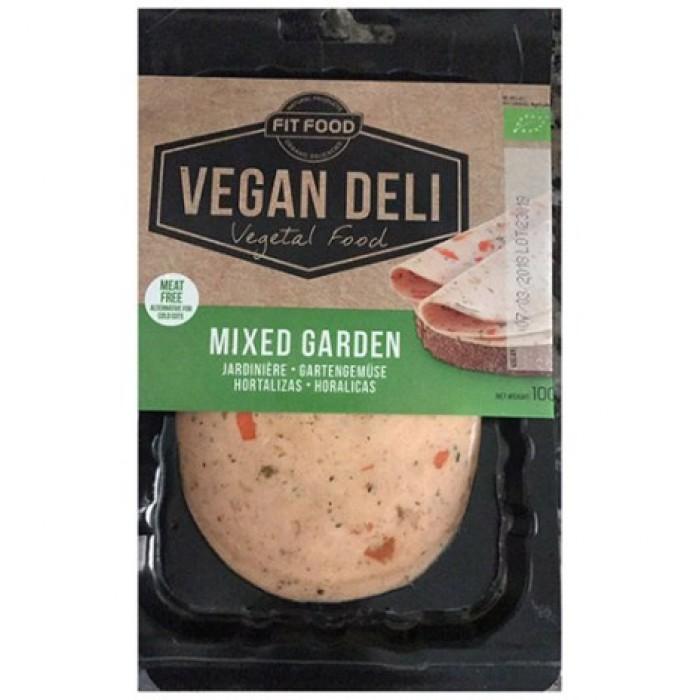 Φέτες Αλλαντικών Vegan με Ανάμεικτα Λαχανικά 100γρ ΒΙΟ