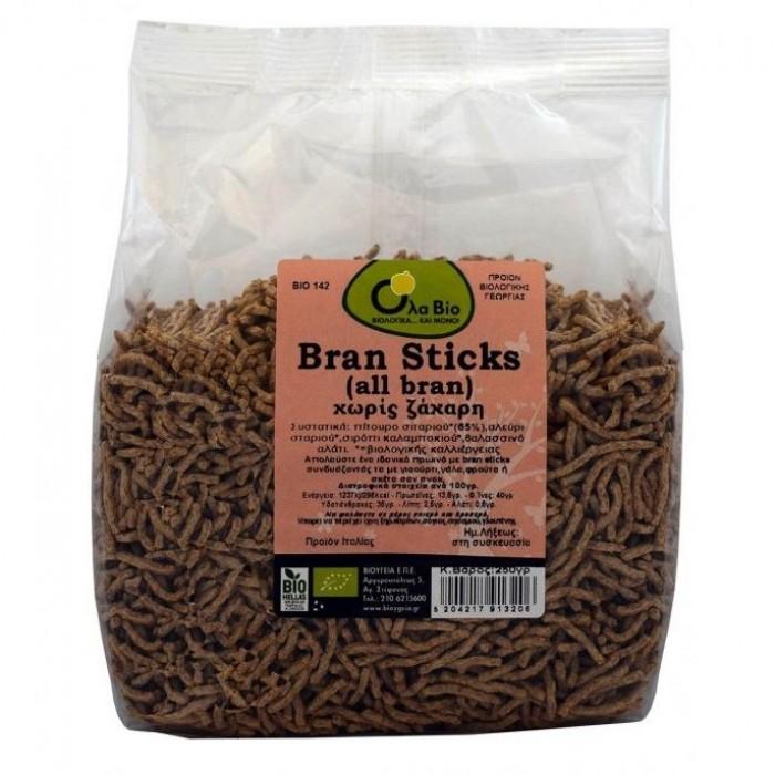 Bran Sticks Βιολογικα 250γρ