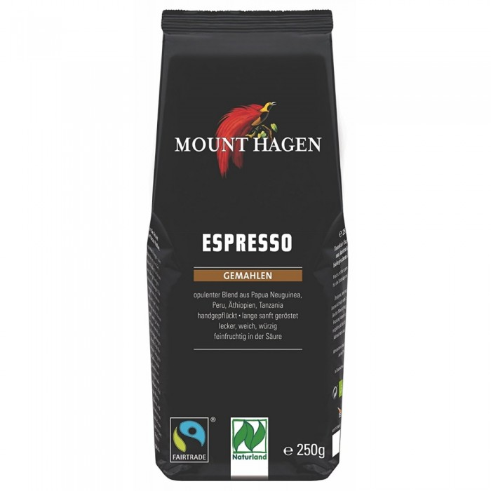 Espresso Mount Hagen 250γρ ΒΙΟ