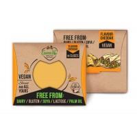 Χορτοφαγικό Τυρί με Γεύση Cheddar σε Φέτες 180γρ