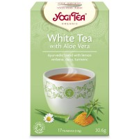 Yogi Tea White Tea With Aloe Vera 30,6γρ ΒΙΟ