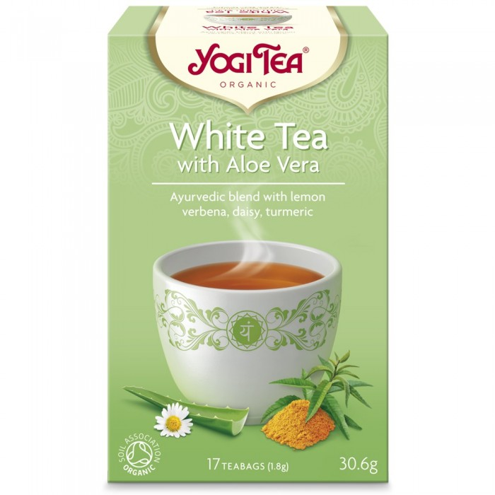 Yogi Tea White Tea With Aloe Vera Bio