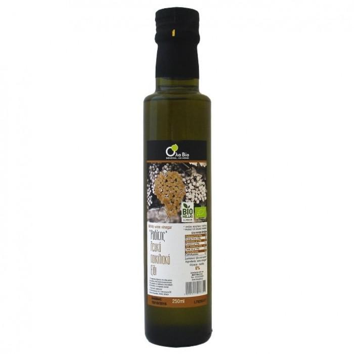 Ξύδι από Λευκό Κρασί Βιολογικό 250ml