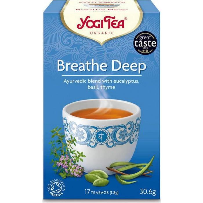 Yogi Tea Breathe Deep - Βιολογικό τσάι για καλύτερες αναπνοές