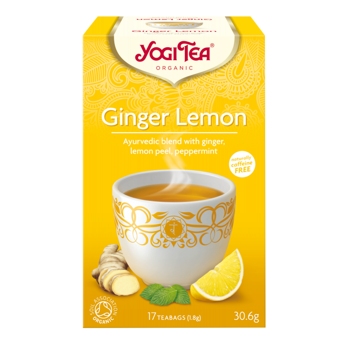 Yogi Tea Ginger Lemon Bio