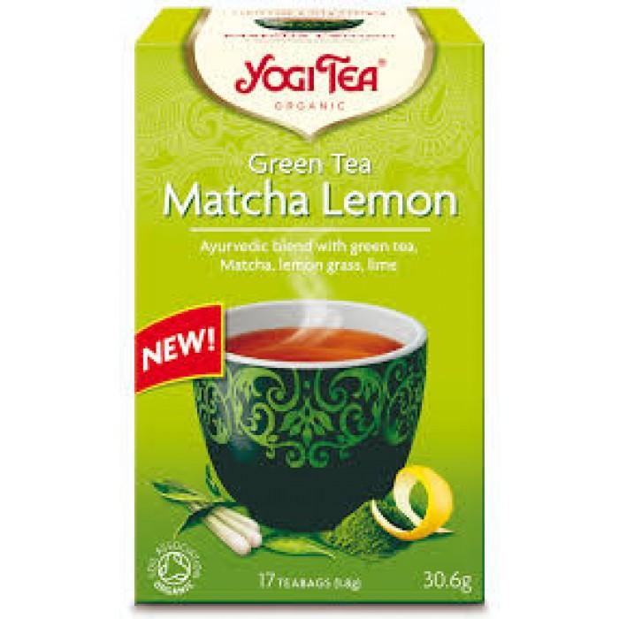 Yogi Tea Matcha Lemon Bio