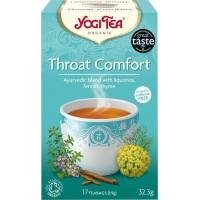 Βιολογικό Τσάι για τον Πονόλαιμο- Yogi Tea Throat Comfort Bio