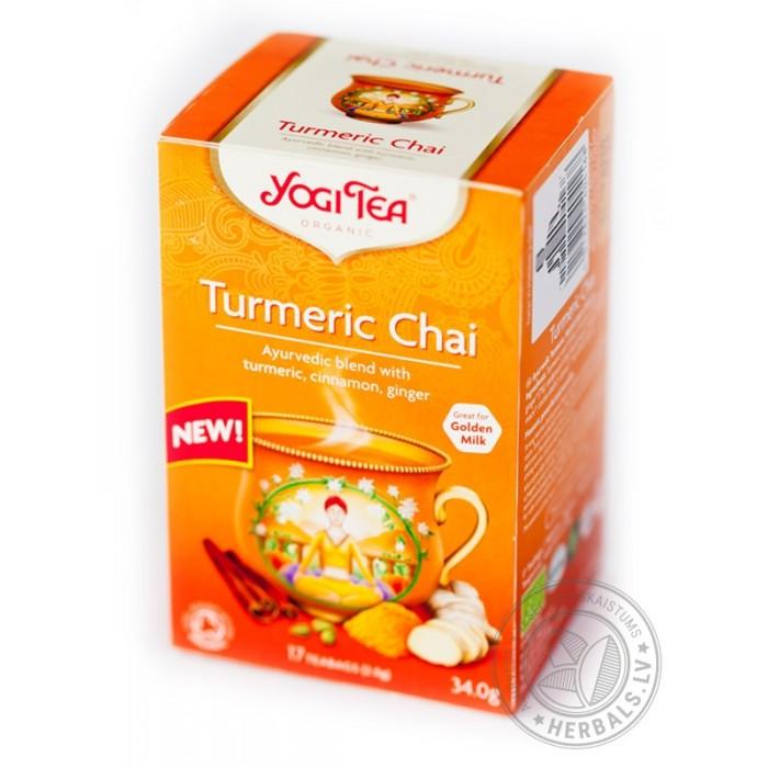 Βιολογικό Τσάι με Κουρκουμά Yogi Tea Bio
